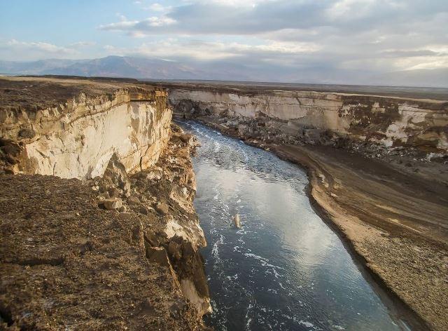 הנהר הסודי ים המלח
